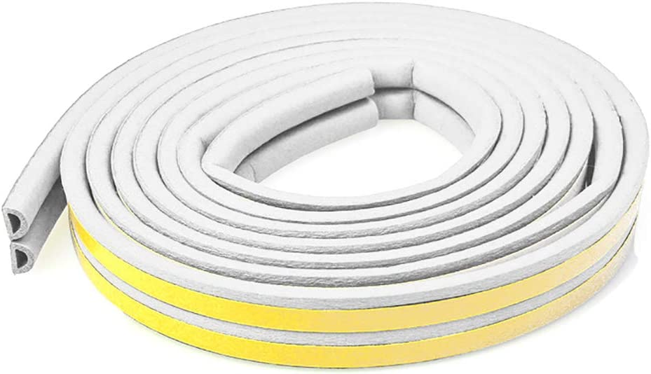 Para puerta exterior Weather strip, 16 ft/5 m de goma interior al ...