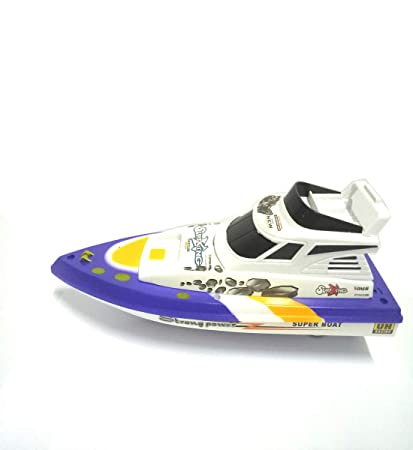 7648979eaa Buy Jilani Mini Battery Operated Fast Toy Boat Plastic Racing Game Online  at Low Prices in India - Amazon.in