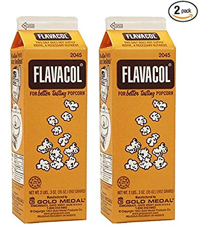 Flavacol Gourmet Popcorn Flavoring (Gold Medal 992 Grams Size) (2 Pack) by Gold Medal (Image #1)