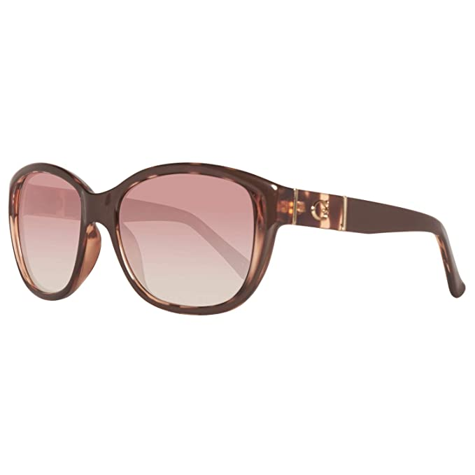Guess GU 7337 Gafas de sol, Marrón Gradient Brown Lens, 56 ...