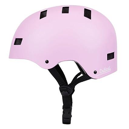 7a2e46820af Amazon.com   Retrospec CM-1 Classic Commuter Bike Skate Multi-Sport Helmet  with 10 Vents   Sports   Outdoors
