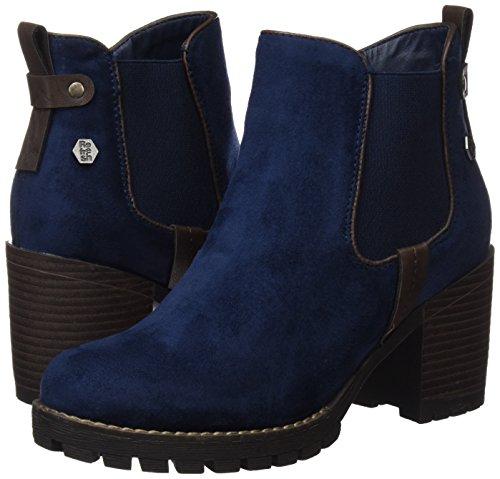 Botas 063885 navy Mujer Azul Chelsea Refresh Para 5P4gvq4A