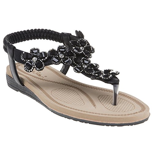 Black Black Black Sandals SOLESISTER Betty Sandals Betty Black SOLESISTER 1Ep1wq6rP