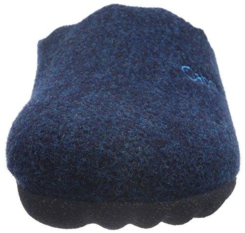 Gabor Home 64685 - Zapatilla de estar por casa Mujer Azul - Blau (Marino)