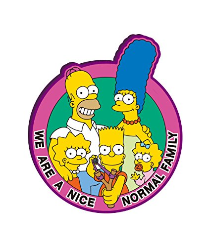 Fox The Simpsons Family Soft Touch PVC Magnet