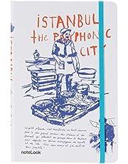 Scrikss İstanbul Defter, Çizgisiz, A5, Balıkçı
