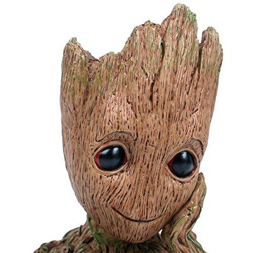 Moda Guardianes de la galaxia Groot Bebé cifras de acción de maceta