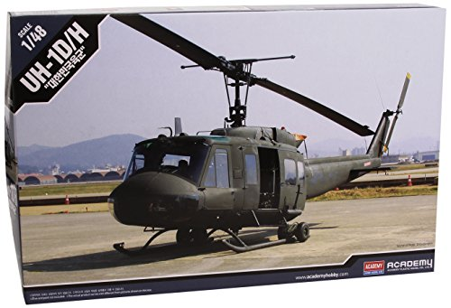 1/48 UH-1D/H R.O.K Army Helicopter 12308 – Plastic Model Kit