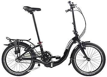 Ciao i3 Dahon plegable bicicletas, color negro, tamaño unisex