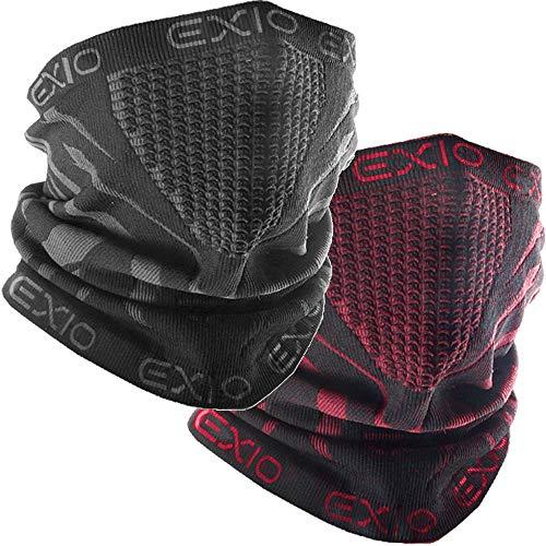 71e26f6a903 EXIO Winter Neck Warmer Gaiter Balaclava - Windproof Face Mask for Ski