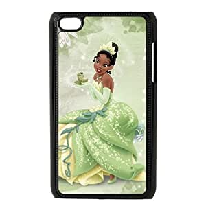 iPod Touch 4 Phone Case Black Disney The Princess and the Frog Character Tiana ES7TY7903650