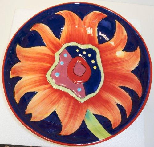 Simon Bull Sunflower Salad Bowl by Vangroup