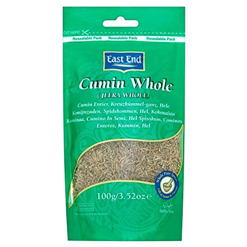 East End Whole Cumin (100g) - Pack of 6 by East End