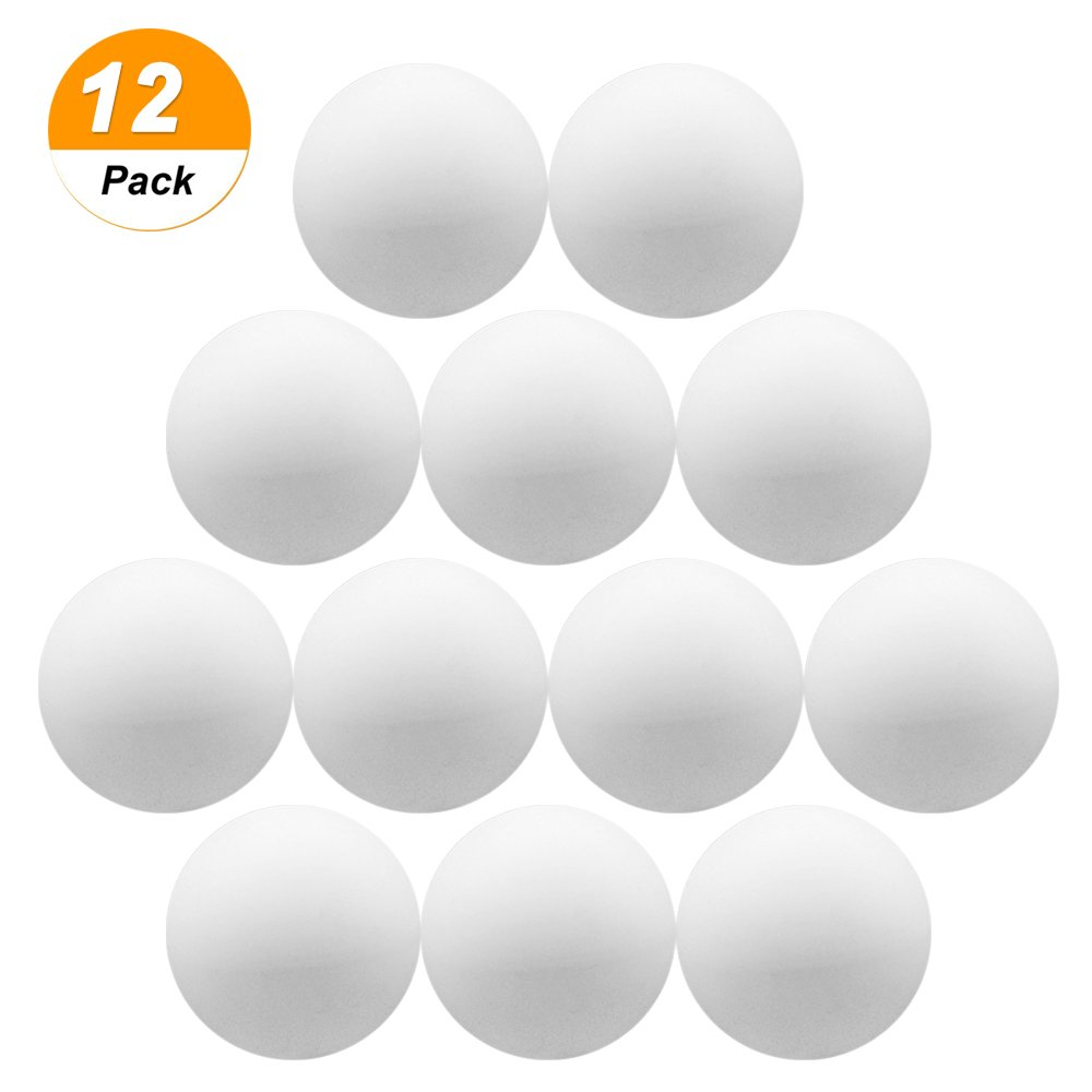 Accessotech Table Tennis Balls Plastic Ping Pong Small Replacement Practice Sport Beer Pong