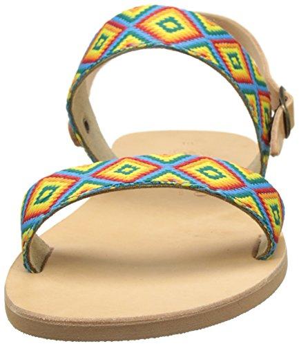 THELUTO Thalassa, Sandalias Mujer Multicolore (Rubans)
