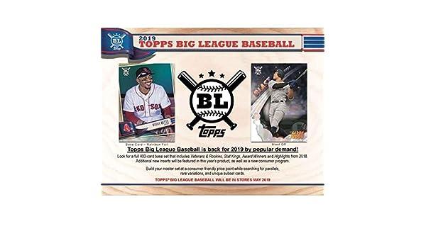 Sealed 2018 Topps Big League Hobby Box