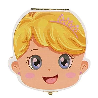 Baby Tooth Save Box Organizer Holder for Kids Boy&Girl, Tuscom Baby Milk Teeth Save Wooden Deciduous Souvenir Storage Box, Baby Child Tooth Keepsake Holder Organizer (Boy Style) : Baby