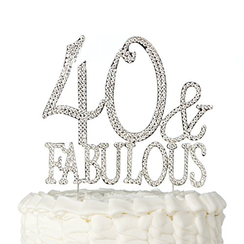 Ella Celebration 40 & Fabulous Cake Topper for