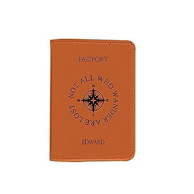 [Name Customized] Leather Passport Holder/Cover - Passport Wallet_Mishkaa