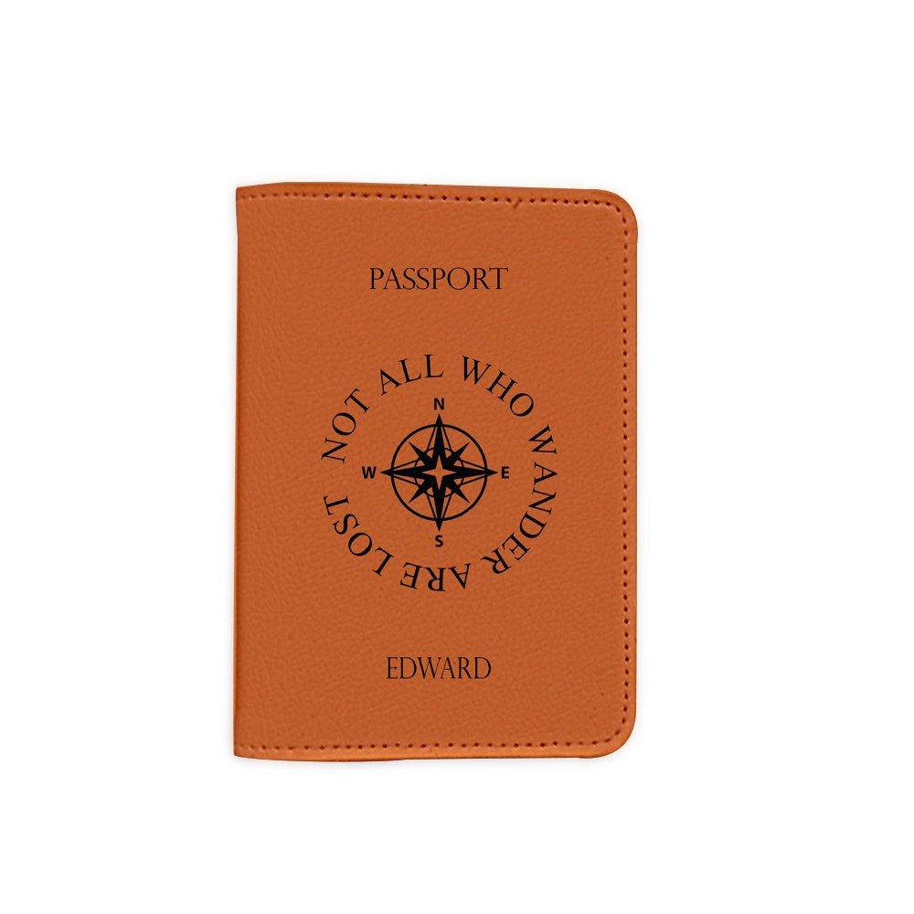 Leather Passport Holder//Cover Passport Wallet/_Mishkaa Name Customized