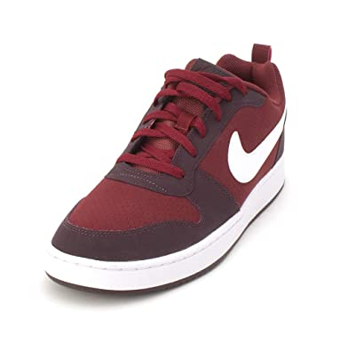 new concept 30b8e 53e53 Nike Men s Court Borough Low Leather Sneakers  Buy Online at Low Prices in  India - Amazon.in