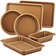 Ayesha Curry 47192 Bakeware Sets, 6-Piece, Copper