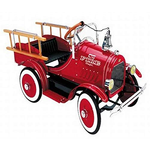 Blue Diamond Classics Model A Fire Truck Pedal Car