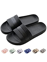 INFLATION Unisex Bathroom Couples Slippers Non-Slip Soft Bottom Summer Beach Women & Men Sandals