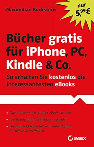 Bücher gratis für iPhone, PC, Kindle & Co.: So erhalten Sie kostenlos die interessantesten eBooks