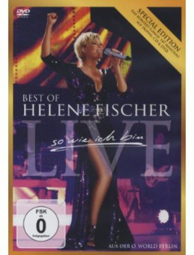 Blu-ray : Helene Fischer - Best of Live: So Wie Ich Bin (Portugal - Import, 3 Disc) {OU}