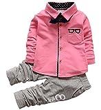 Baby Boys' Fall Clothing Sets Tops + Pants 2PCs