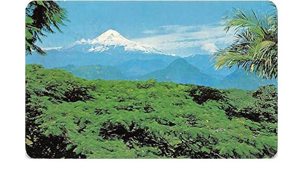 El Pico de Orizaba Mexico Postcard Tarjeta Postal at ...