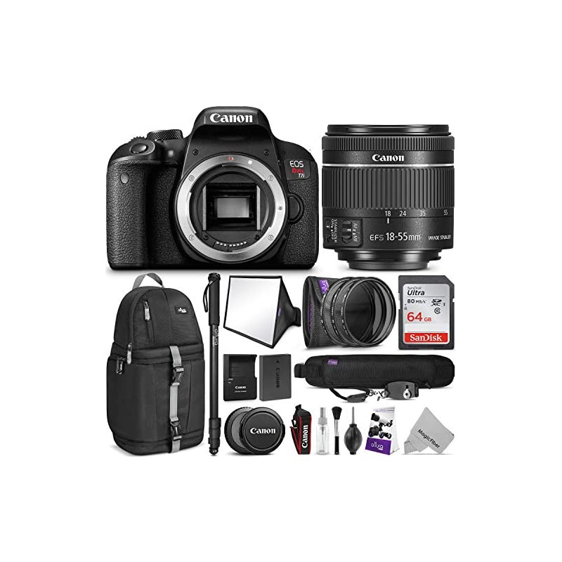 Canon EOS Rebel T7i DSLR Camera 18-55mm