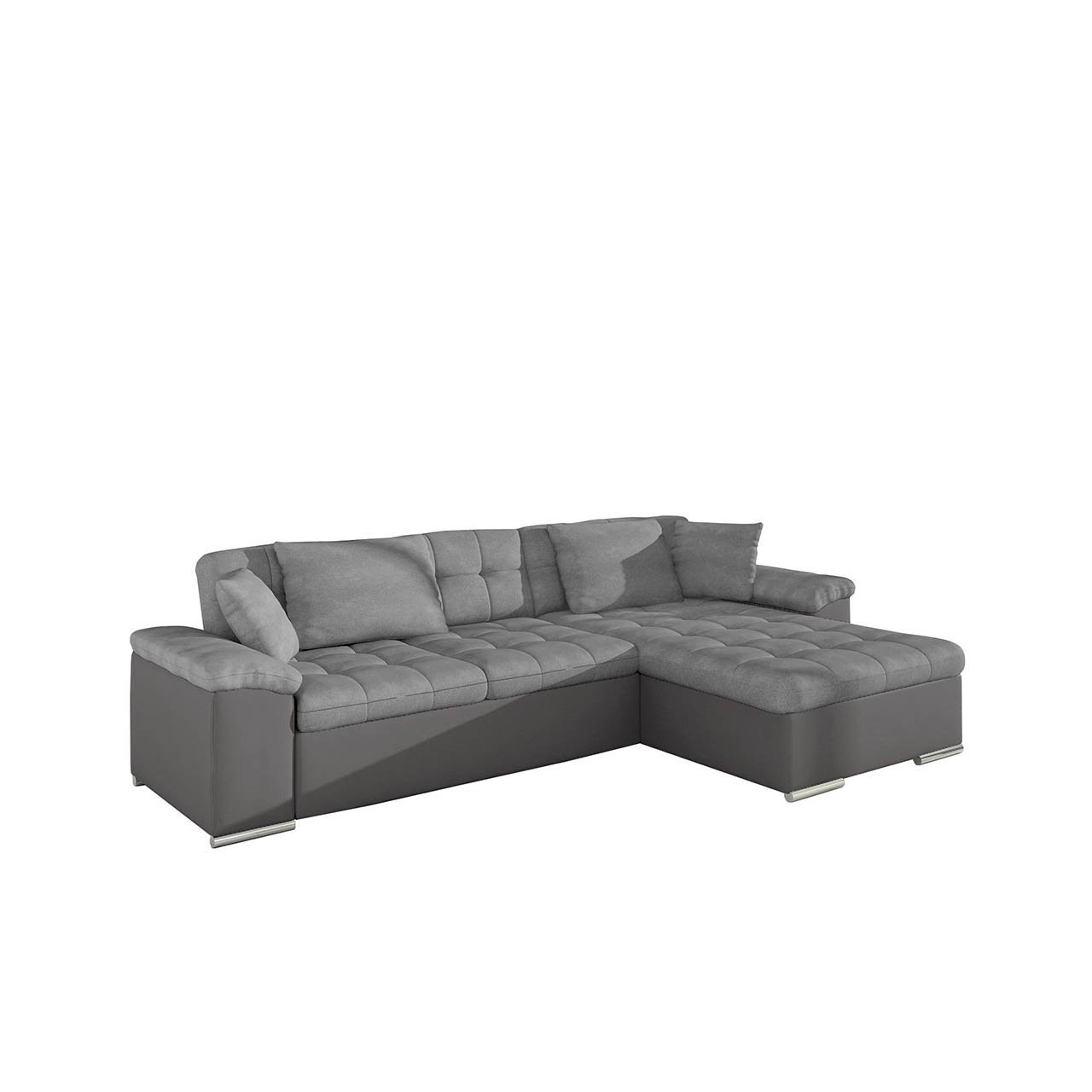 Moderne eckcouch mit schlaffunktion  Großes Design Ecksofa Diana, Eckcouch mit Bettkasten und ...