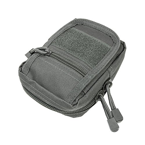 NC Star Small Utility Pouch, Urban Gray ()