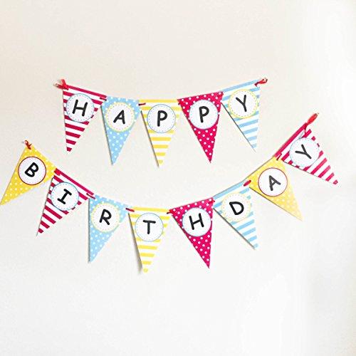 Bobee Happy Birthday Banner
