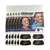 #6: (24 Strips) Eye Black - Baltimore Orioles MLB Eye Black Anti Glare Strips, Great for Fans & Athletes on Game Day
