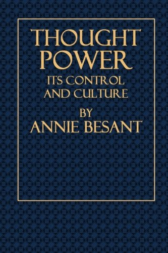 Thought Power: Its Control and Culture
