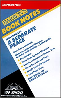 image for John Knowles's a Separate Peace (Barron's Book Notes)