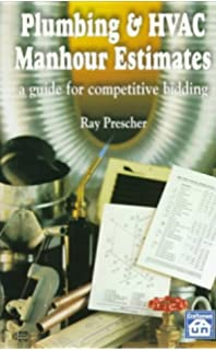 plumbing hvac manhour estimates a guide to competitive bidding - Hvac Estimator