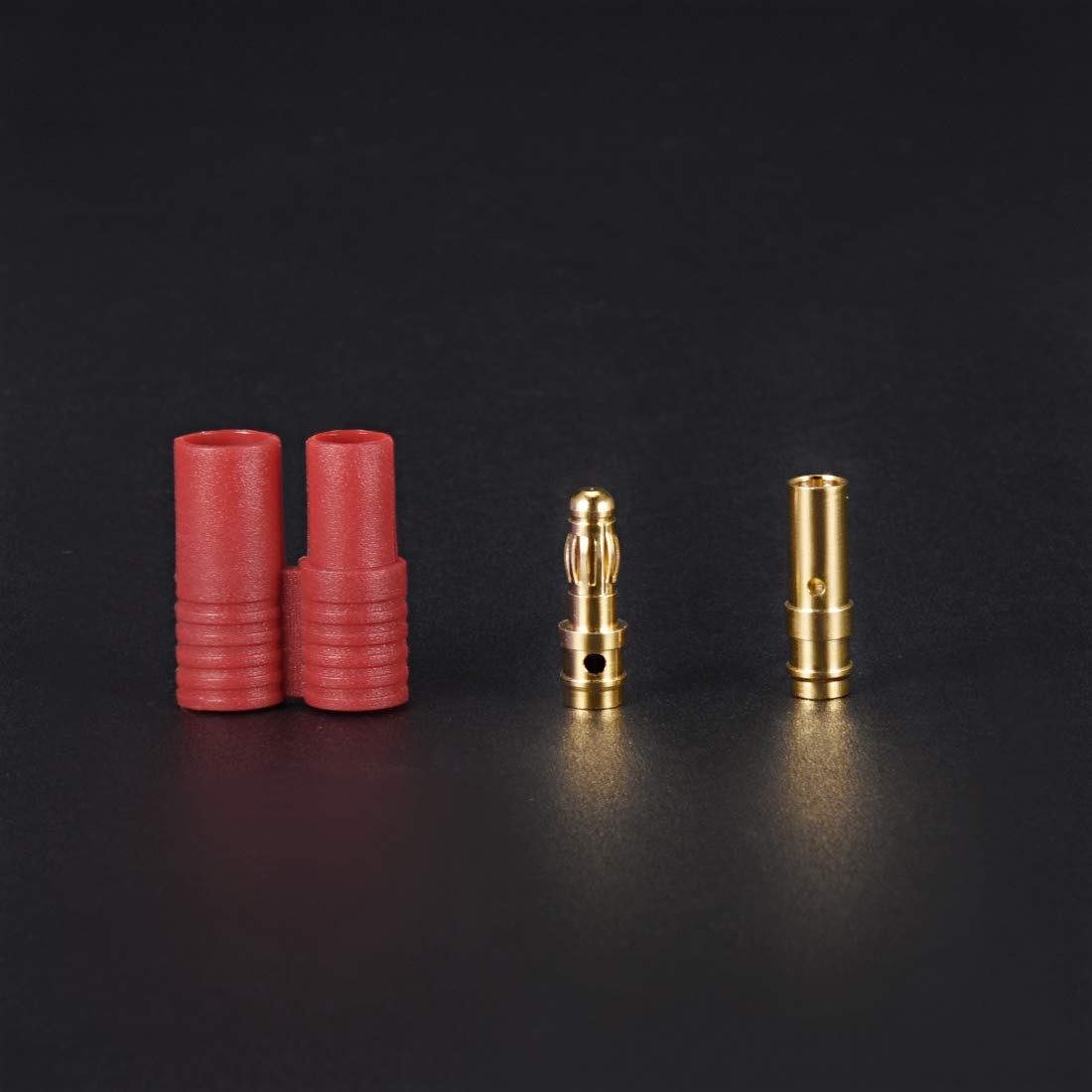 uxcell 3.5mm Bullets Connector Gold EC3 Connector Plugs RC LIPO Battery ESC Motor DIY Parts Device End/&Battery End 2Sets