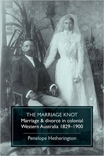 Ebook gratuit mp3 téléchargerThe Marriage Knot: Marriage and divorce in colonial Western Australia 1829-1900 (Littérature Française) CHM