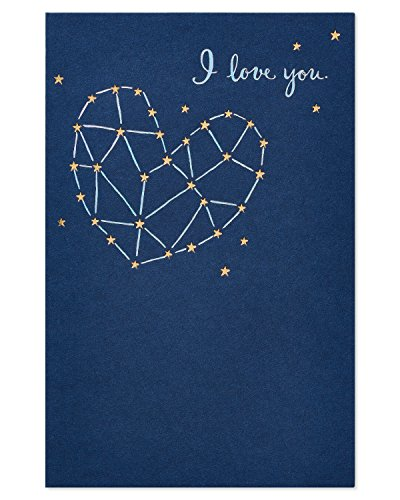 American Greetings I Love You Thinking of You Card with Foil