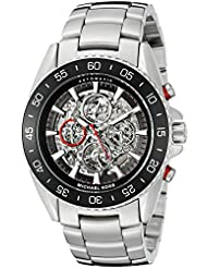 Michael Kors Mens Jet Master Silver-Tone Watch MK9011