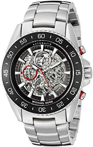 Michael Kors Men's Jet Master Silver-Tone Watch MK9011