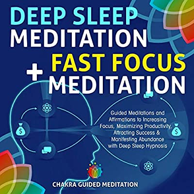 Amazon com: Deep Sleep Meditation + Fast Focus Meditation: Guided