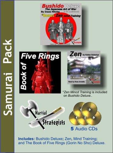 Samurai Audiopack: Bushido, the Book of 5 Rings and Zen Mind Control
