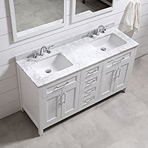 21 inch bathroom vanity sink ove decors tahoe 60w marble top bathroom sink 21778