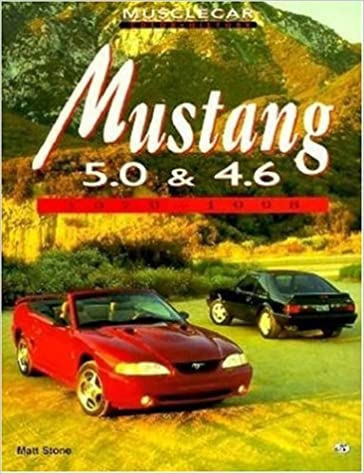 mustang 50 and 46 1979 1998 muscle car color history
