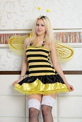 Disfraz sexy de abeja Maya para carnaval/ fiesta (5 piezas) - XXL ...